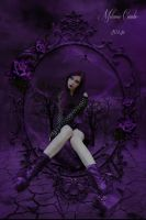 Purple Widow by paranormallily32