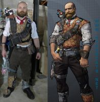 Axton community day skin cosplay by Hypercats