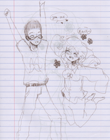 me and mark by sSflowerSs