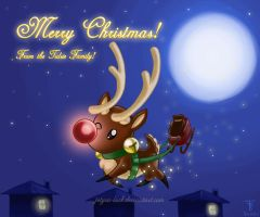 2012 Christmas Card by Jetyra-Luck