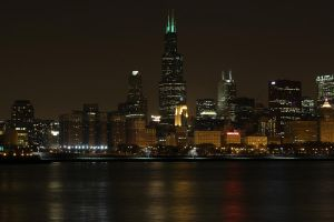 Willis Tower at Night by cougarbandit