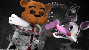 Wanna hang out? -Mangle (SFM) by OfficerSchmidtFTW