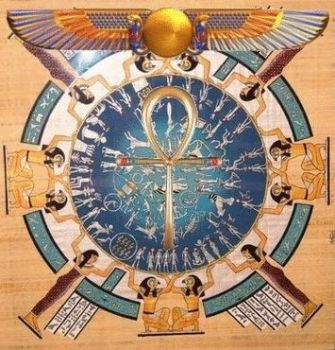 Egyptian astrology by Winged-Isis