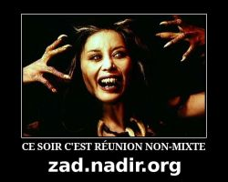 Reunion non mixte by benzaden