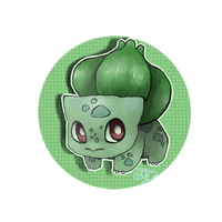 Bulbasaur sticker by Jenny-Doodles