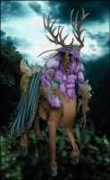 Colorized: Keeper of the Grove by anapaest