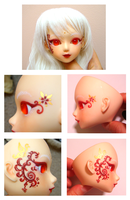 BJD - Dawn - Faceup 2 by almyki