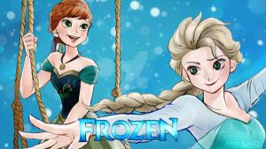 Frozen Queen and Princess by amarim