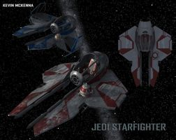 Jedi Starfighter by CC-5052