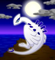 Lugia: True God of the Sea by IronFist-Productions