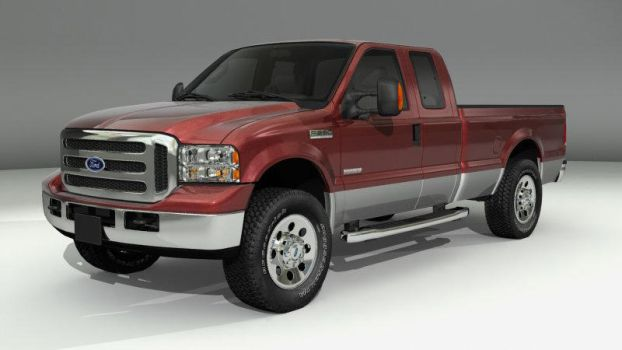 Ford F250 Truck by MillieModels