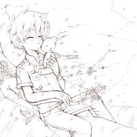 Happy Syaoran by Danime-chan
