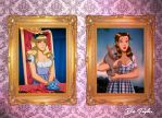 Alice and Dorothy by Des Taylor by DESPOP