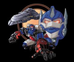 Optimus Primal by Johnny-Turbo