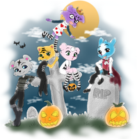 Pet Society Halloween by Musapan