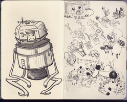 Space Probes by Hemato
