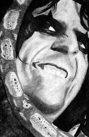 Charcoal - Alice Cooper by ddqj0428