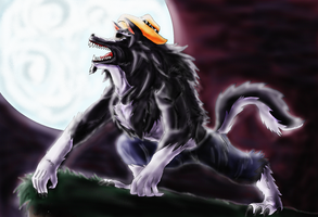 Dross Wolf by guerreroOmega