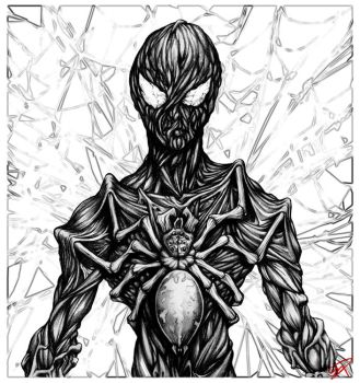 The fall Of Spider-Man by navillus