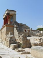 Knossos Palace by somekindofgeri