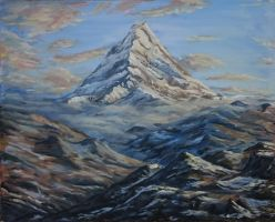 The Lonely Mountain by eddieshred