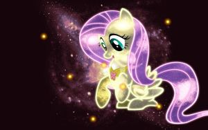 Fluttershy wallpaper by nalutea