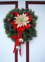 Christmas Wreath STOCK by KarahRobinson-Art