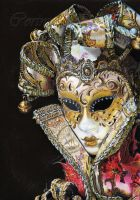 Venetian Mask by Sadness40