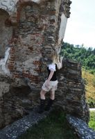 Shooting #3: Castle ruin (IMG 8) by FadingHistory