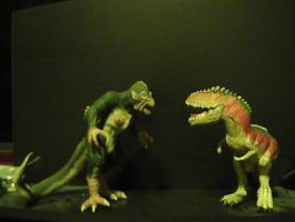 Random beast battle #1: Ymir vs. Giganotosaurus by RMC1618