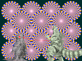 Godzilla vs Hedorah trippy background by Gorosaurus65