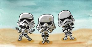 Troopers on Tatooine by Zakisbak