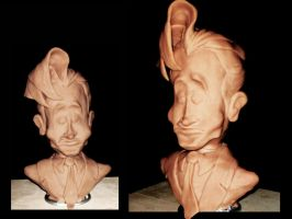 Maquette: Conan O'Brien by Raaynee