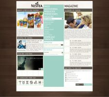 Proposal Magazine for Nestea by jonikox