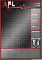 AFL5 Character Template 1 by AngelCrusher