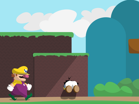 Wario and Toad by MGH-Mad-Gamer