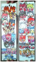 Ultimate Sushi dog bookmark!!! by misty-paws
