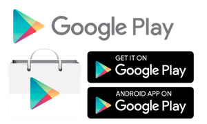 Google Play Store Icon and Badges by hsigmond