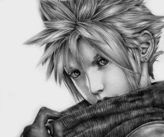 Cloud Strife by SunrisePearl
