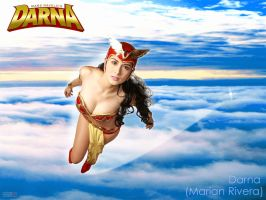 Darna takes to the skies by 5red