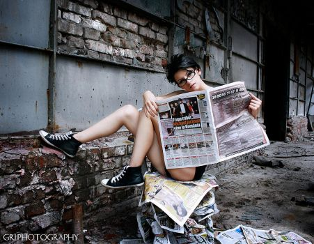 Hot News I by GriPhotography
