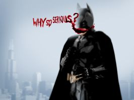 batman who is serious by Paullus23