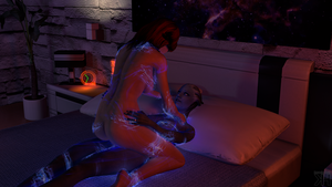 Liara and Kayla: Is everything alright now? #2 by Grummel83