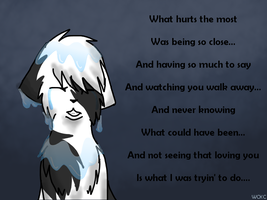 Windpaw - What Hurts The Most by WarriorCatkittyclaws