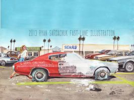 The Life Story Of A 1970 Chevy Chevelle (Part 18) by FastLaneIllustration