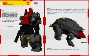DINOBOT SLAB by F-for-feasant-design