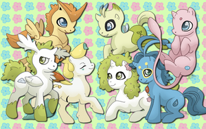 My little Legendaries WP by AliceHumanSacrifice0
