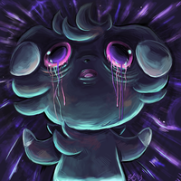 Espurr used Psychic by TheStripedKit