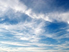 blue sky and clouds stock by snikkio-stock