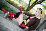 Bombshell Harley Quinn by CuteyKitty